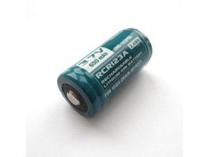 Batéria OLIGHT RCR123A 650 mAh 3,7V nabíjateľná