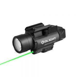 Svetlo na zbraň Olight BALDR Pro 1350 lm – zelený laser