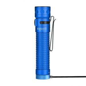 LED baterka Olight Baton Pro 2000 lm modrá – Limitovaná edícia