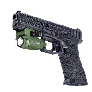 Svetlo na zbraň Olight PL MINI 2 Valkyrie Green 600 lm – Limitovaná edícia