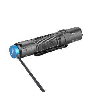 LED baterka Olight M2R Pro Warrior 1800 lm – Gunmetal Grey limitovaná edícia