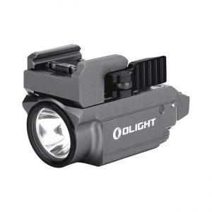 Svetlo na zbraň Olight Baldr Mini Gunmetal 600 lm – zelený laser limitovaná edícia