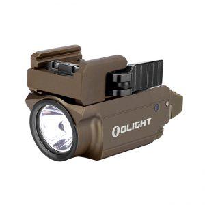 Svetlo na zbraň Olight Baldr Mini Desert 600 lm – zelený laser