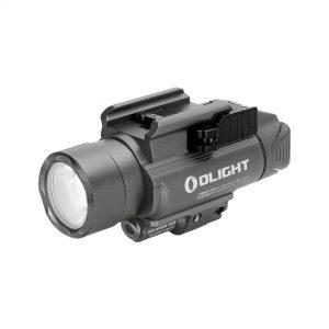 Svetlo na zbraň Olight BALDR Pro 1350 lm – zelený laser gunmetal grey limitovaná edícia