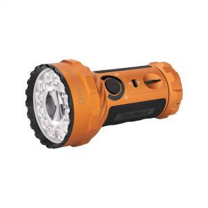 LED baterka Olight Marauder 2 14000 lm s možnosťou bodového svietenia orange – limitovaná edícia