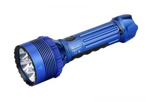 Najvýkonnejšia LED baterka Olight X9R Marauder 25000 lm Blue – limitovaná edícia
