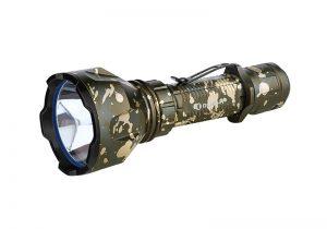 LED baterka Olight Warrior X Turbo 1100 lm Desert Camouflage – limitovaná edícia
